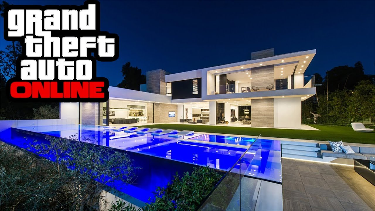 Gta 5 dlc new mansion house apartment update showcase in for A mansion house
