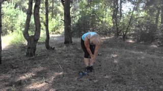 Комплекс упражнений с гантелями, для мышц ног.