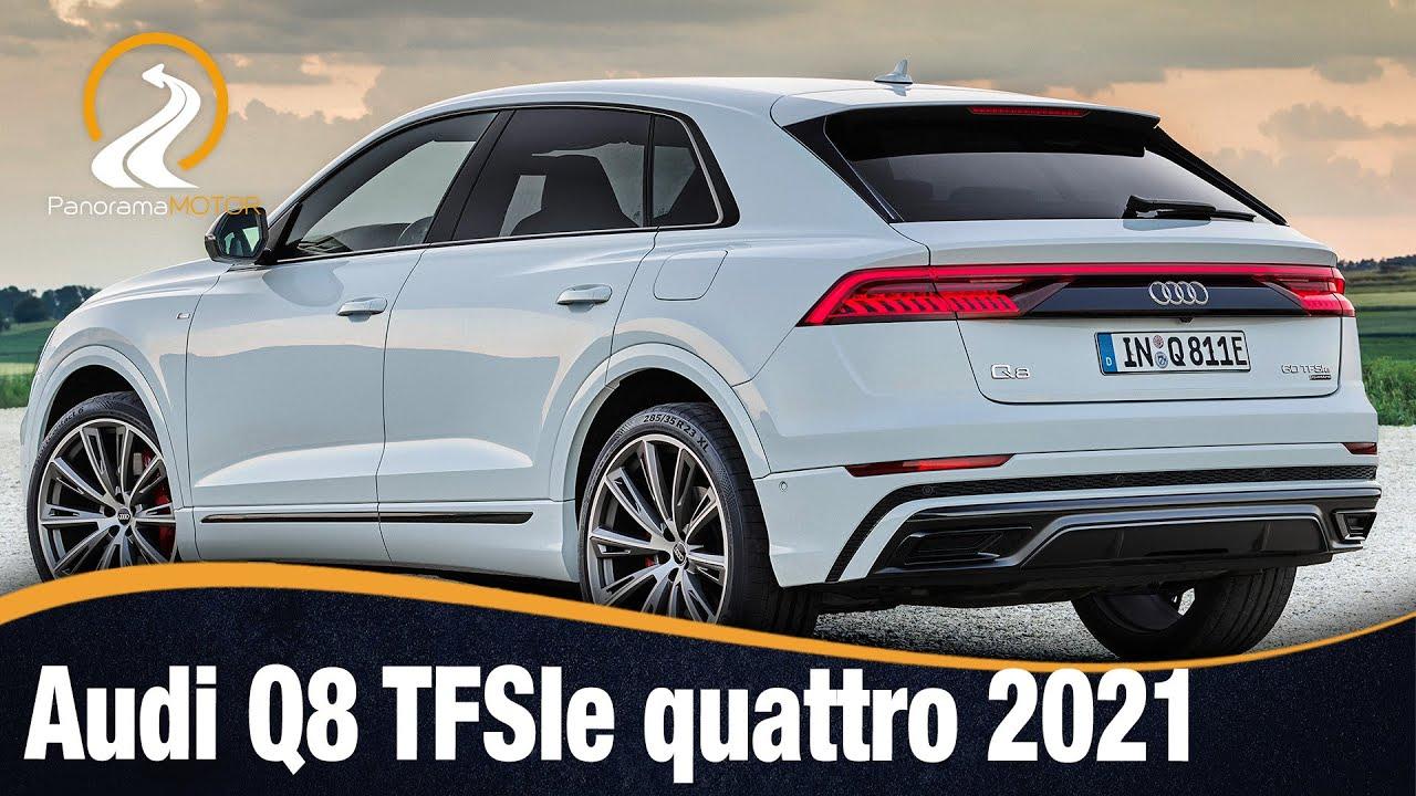 Audi Q8 TFSIe quattro 2021   SUV CON MÁXIMO PODER Y EFICIENCIA GRACIAS A LA  HIBRIDACIÓN ENCHUFABLE - YouTube