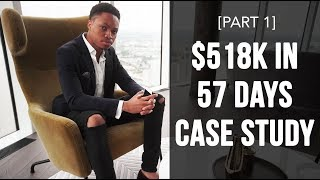 Affiliate Marketing 101-  $518k In 57 Days Case Study With CPA / Affiliate Marketing Offers [Part 1]