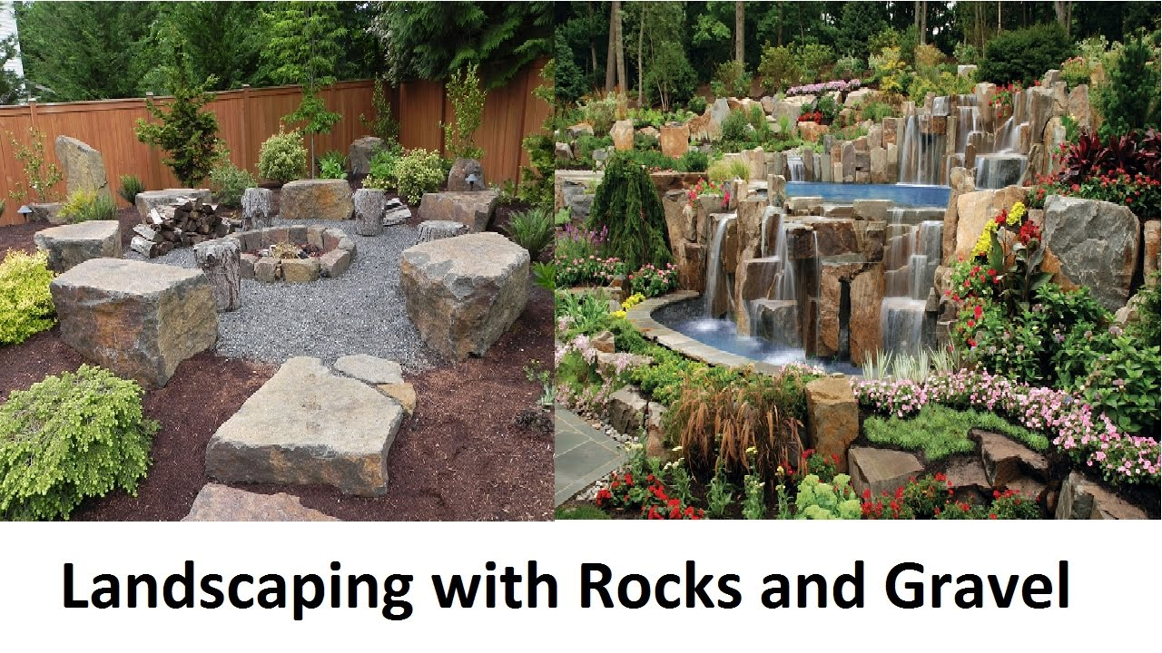 Awesome Landscaping with Rocks and Gravel - Awesome Landscaping With Rocks And Gravel - YouTube