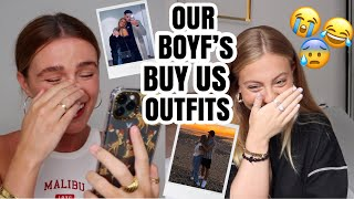 OUR BOYFRIEND'S BUY OUR OUTFITS....TRY NOT TO LAUGH (BET YOU CAN'T LOL)   Syd and Ell