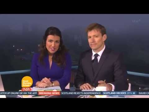 [HD] Good Morning Britain Scotland Decides 2014: 7am opening from Edinburgh