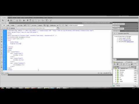 Curso De CSS(Tableless) Avançado Com Grid 960 - Parte 5