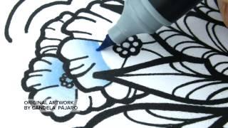 Chameleon Pens - One Pen Color Gradations and Blends