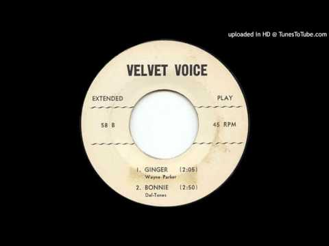 WAYNE PARKER: Ginger Velvet Voice Records 1950s  Boston