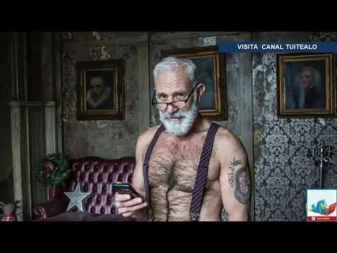 Sexy Santa Claus enloquece a mujeres en redes