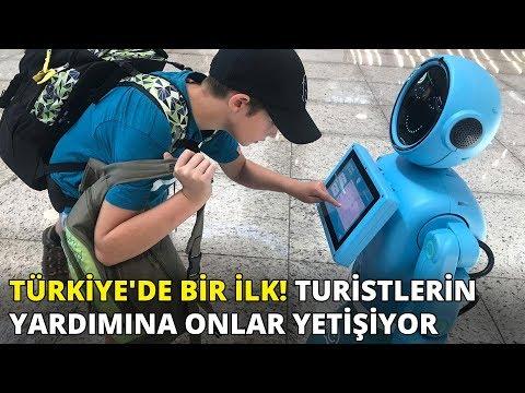 Türkiye'de ilk kez İstanbul Havalimanı'nda başladı! Turistlerin yardımın