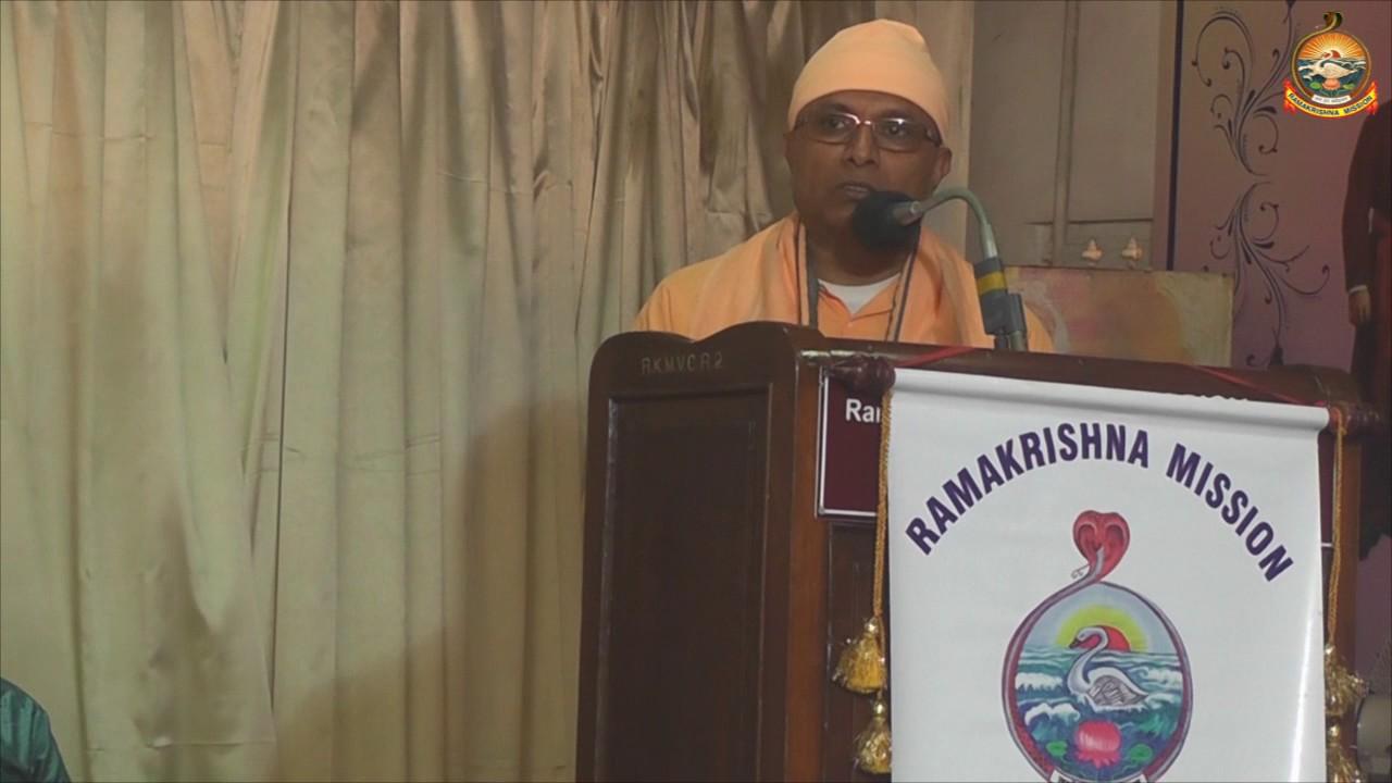 Special lecture by Rev Swami. Baneshwaranandaji Mj  President, Vedanta Society of Germany, Berlin.