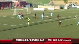 Serie D Girone D Villabiagio-Fiorenzuola 4-2
