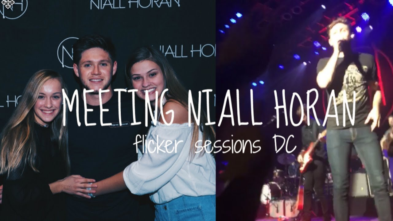 Meeting niall horan flicker sessions dc experience 2017 youtube meeting niall horan flicker sessions dc experience 2017 m4hsunfo