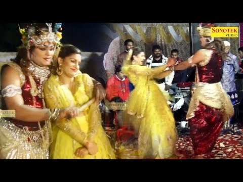 Teri Meri Katti Hai Jayegi : सपना चौधरी ने राधा बनकर कृष्ण जी के साथ जमकरलगाए ठुमके | Sai Sandhya