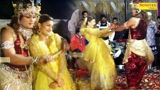 Teri Meri Katti Hai Jayegi : सपना चौधरी ने राधा बनकर कृष्ण जी के साथ जमकर लगाए ठुमके | Sai Sandhya