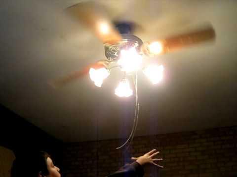 Wobbley ceiling fan oo youtube wobbley ceiling fan oo aloadofball Gallery