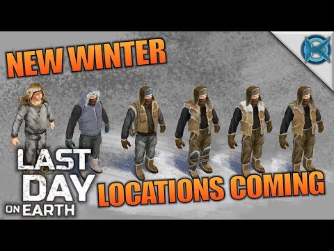 NEW WINTER LOCATIONS COMING | Last Day on Earth: Survival | Let's Play Gameplay | S02E36