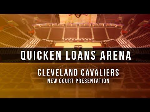 3D Digital Venue - Quicken Loans Arena (NBA Cleveland Cavaliers) - New Court Design 2017/18