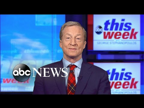 'I'm trying my heart at it … I think I'm going to do really well': Steyer on campaign