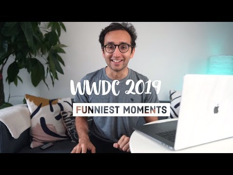 Top 14 Funniest Moments from Apple WWDC 2019