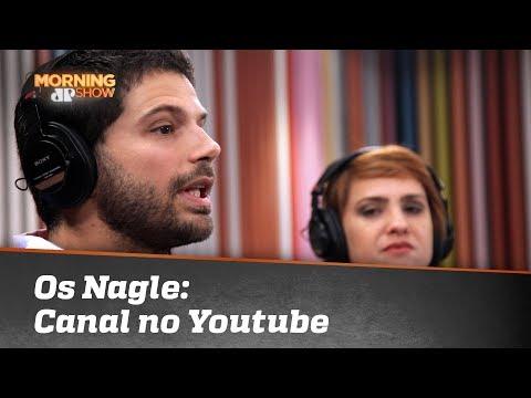 Os Nagle! Duda E Leda Estreiam Canal No YouTube