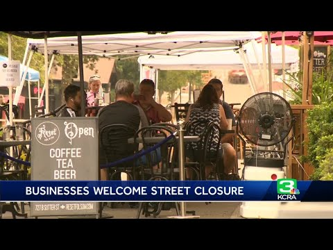 Folsom businesses welcome street closure to boost foot traffic