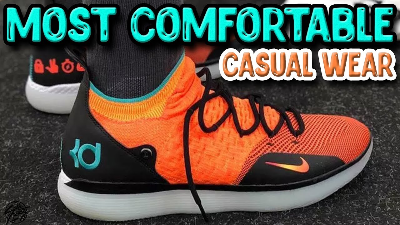 Top 10 Most Comfortable Basketball Shoes For Casual Wear 2018 Youtube