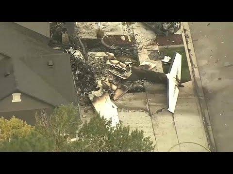 شاهد: سرق طائرة وصدم بها منزله لخلافه مع زوجته  - نشر قبل 53 دقيقة