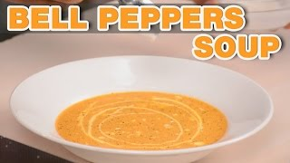 Bell Peppers Soup And Italian Bruschetta By Chef Varun Inamdar