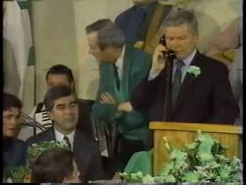 Billy Bulger South Boston St Patrick's Day Breakfast 1987