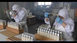 北海道奈井江町名物 バター羊羹の製造工程 - 京屋製菓