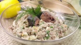 Салат, который хочется СНОВА и СНОВА! Салат из консервированной горбуши