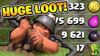 "INSANE DARK ELIXIR GAINS WITH MINERS! - Let's Play TH11 2019 - ""Clash of Clans"""