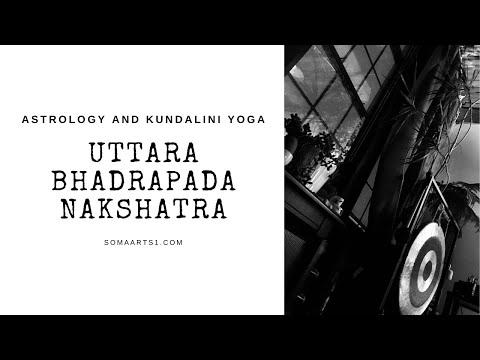 Astrology And Kundalini Yoga: Uttara Bhadrapada