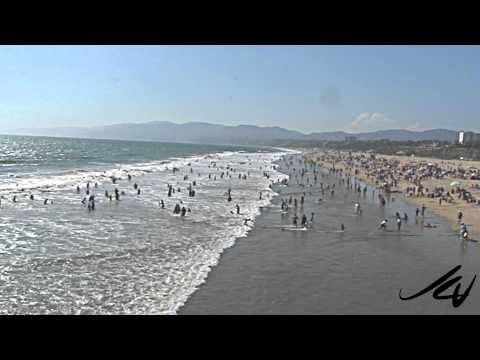 dream of the never ending summer - Santa Monica Beach, California