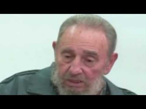 Fidel Castro makes rare TV appearance 2010
