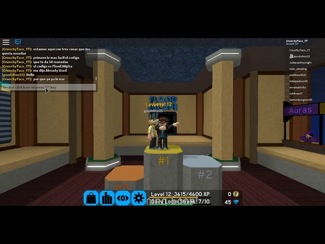 Trucos De Roblox En Flood Escape 2 Atajos Y Trucos Codigos Flood Escape 2 Crunchy Taco Youtube