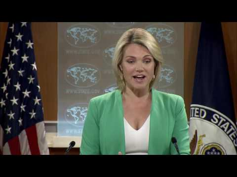 Department Press Briefing - July 20, 2017