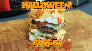 The Halloween Brandy Burger | How to cook a Burger
