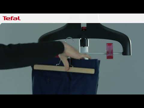 how-to-steam-suit-trousers-|-tefal-upright-garment-steamers