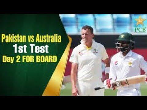 Pakistan Vs Australia 1st Test Day 2 Highlights Oct 8 2018 Cricket Highlights 2 2