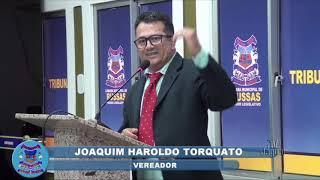 Haroldo Torquato pronunciamento 25 09 2018