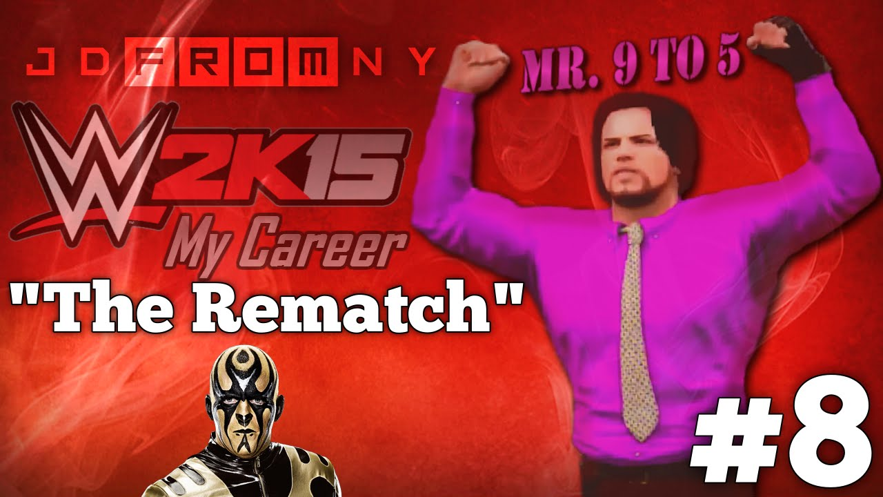 """Download WWE 2K15 (PS4) My Career Mode Ep: #8: """"THE REMATCH"""" 