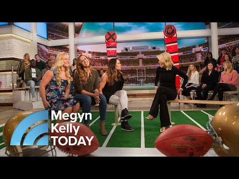 Three Women Tackling A Male-Dominated Sport Of Football | Megyn Kelly TODAY