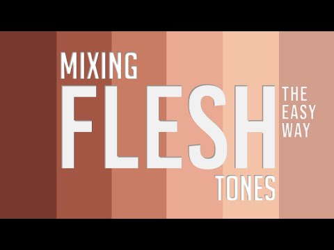 Essentials to Mixing Any Flesh Tone :: Painting Skin Colors