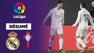 🇪🇸 Résumé : Le Real Madrid s'impose contre le Celta grâce au duo Asensio – Vazquez