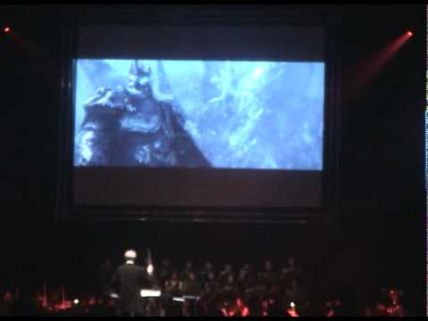 """2009 VGL IN TAIWAN, SinJhuang. WoW, Wrath Of The Lich King - """"Arthas My Son""""-Opening Cinematic."""