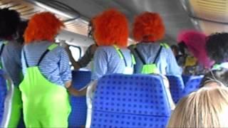 Funny german train to oktoberfest