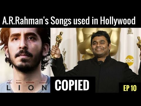 A.R.Rahman's Songs used in Hollywood movies |World copied Bollywood 😱 | EP 10