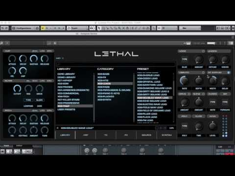 Lethal Audio VST Feat. [Trap OR Hardstyle] Expansion Overview (Lead Focus)