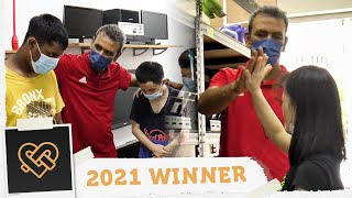 Helping persons with disabilities reach their full potential | Golden Hearts Award 2021