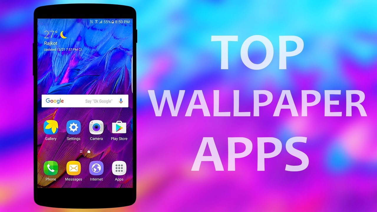 Top 5 best wallpaper apps android 2017 - YouTube